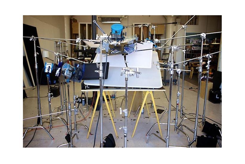Setup oświetleniowy Petera Belangera