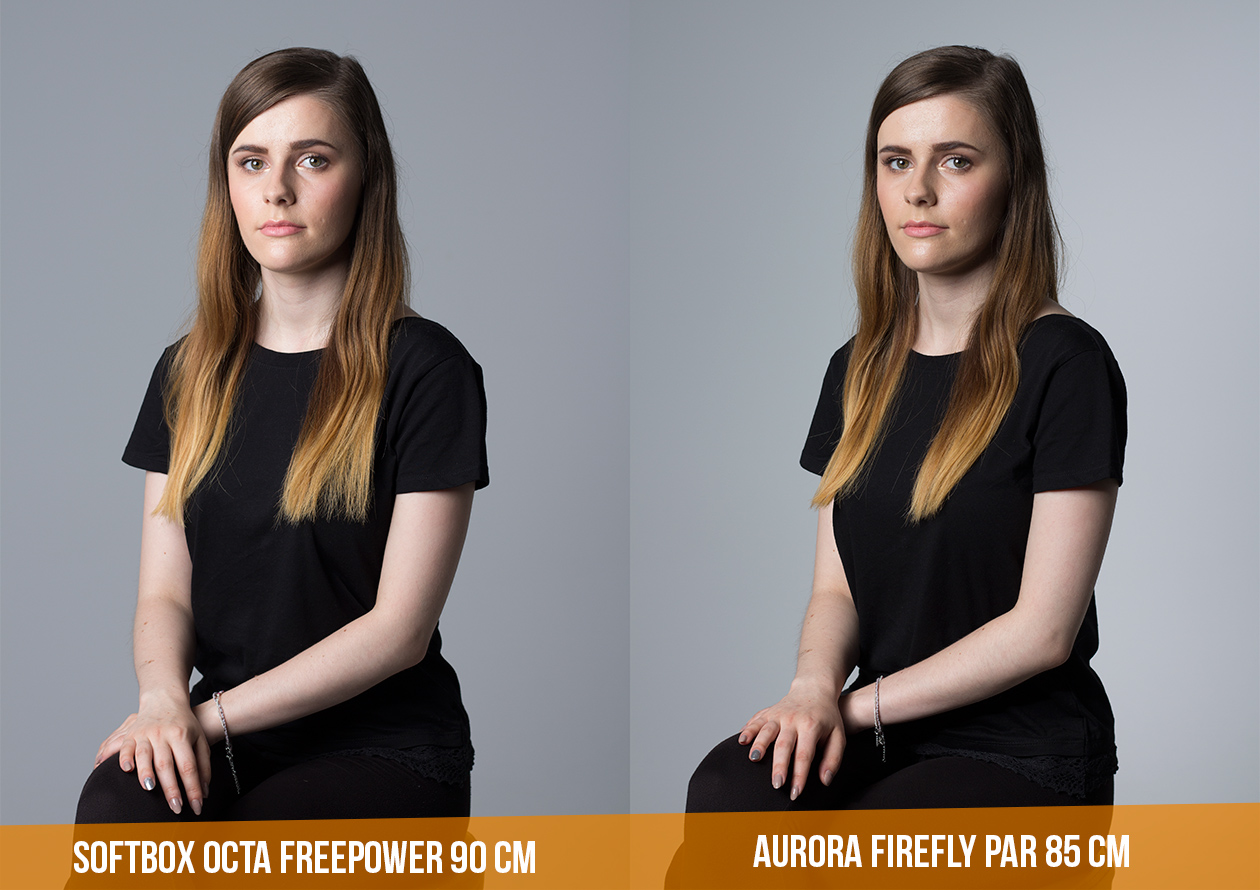 Softbox Aurora PAR vs Octa 90