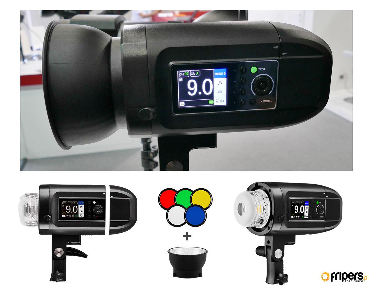Lampa plenerowa Jinbei HD-400