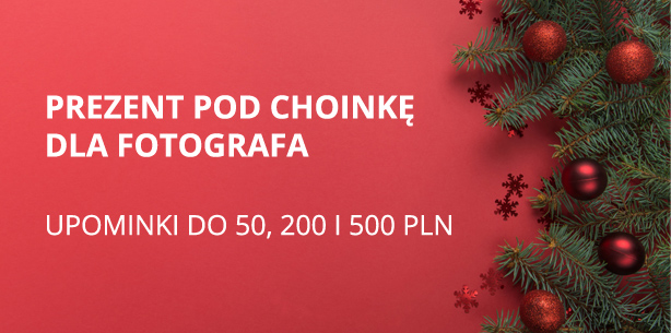 Prezent pod choinkę dla fotografa - 2019