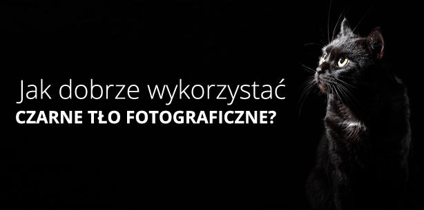 Jak dobrze wykorzystać czarne tło fotograficzne?