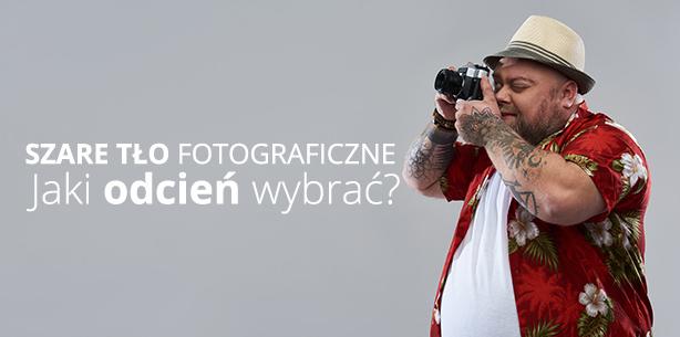 Szare tło fotograficzne - jaki odcień wybrać?