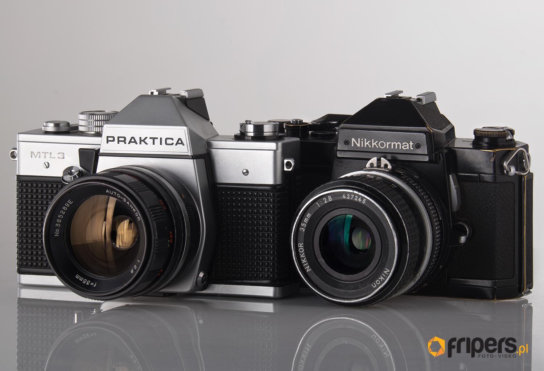 Fotografia analogowa-lustrzanki analogowe manualne