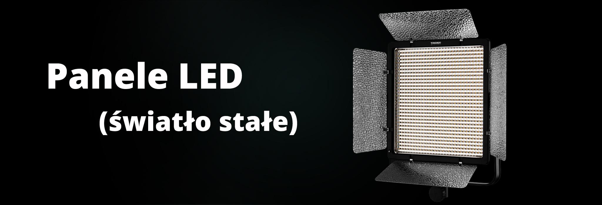 Panele LED - lampy plenerowe światła stałego