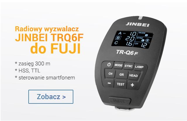 Radiowy wyzwalacz JINBEI TRQ6F do Fuji >