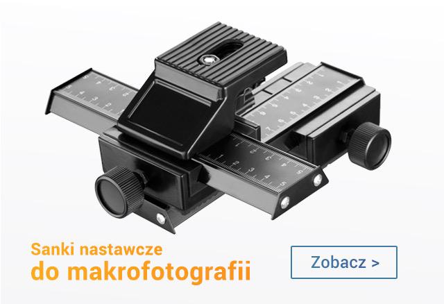 Sanki nastawcze do makrofotografii / zobacz >