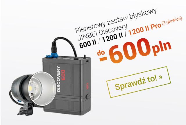 Plenerowe zestawy błyskowe w promocji. Aż do -600 pln! / Zobacz >
