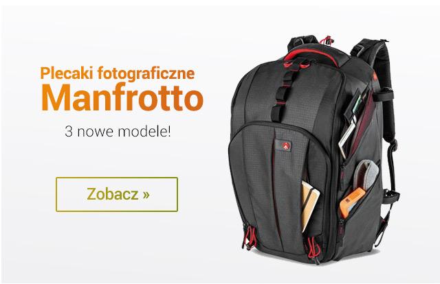Plecaki Manfrotto - nowe modele! / Zobacz >