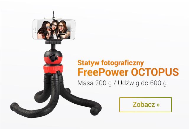 Statyw Fotograficzny Octopus. Masa tylko 200 g! / zobacz >