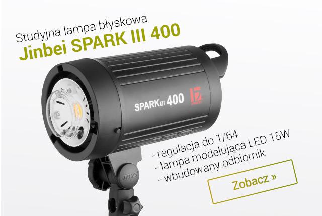 Nowa wersja Jinbei SPARK III 400 / Zobacz >