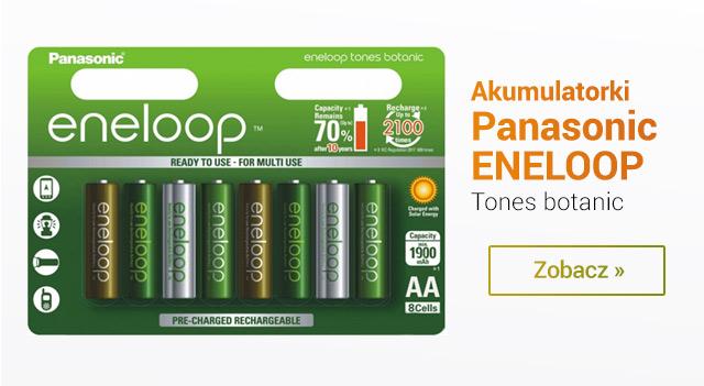 Zestaw akumulatorków Panasonic Eneloop w tonacji botanicznej! / zobacz >