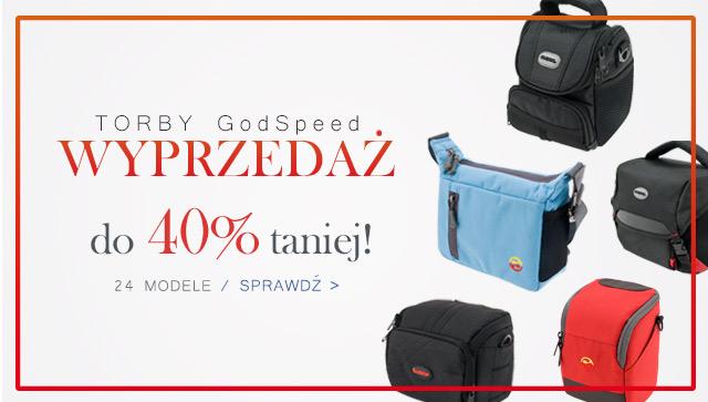 Wszystkie torby GodSpeed aż do 40% taniej! / Zobacz >