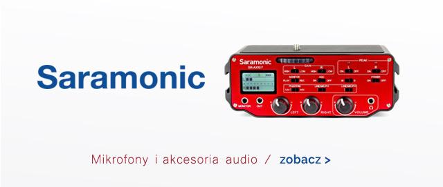 SARAMONIC mikrofony i akcesoria audio / zobacz >