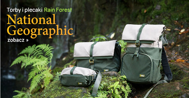 Torby National Geograhpic Rain Forest / zobacz >