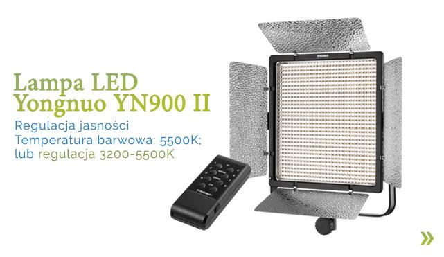 Lampa LED Yongnuo YN900 II / zobacz >