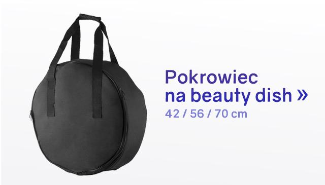 Pokrowiec na beauty dish 42, 56, 70 cm / Zobacz >