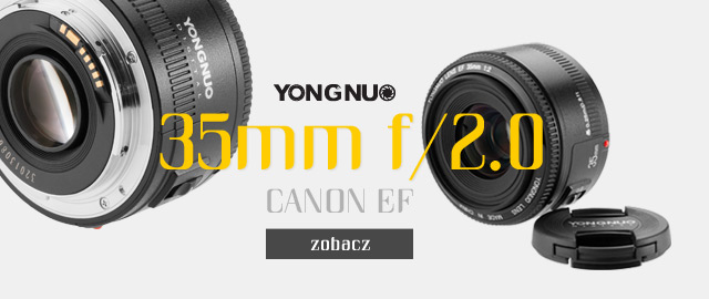 Obiektyw 35 mm f/2.0 Yongnuo zobacz