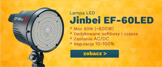Lampa Jinbei LED EF-60