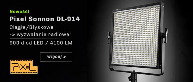 Lampa LED Pixel Sonnon DL-914 - 900 diod! / więcej >