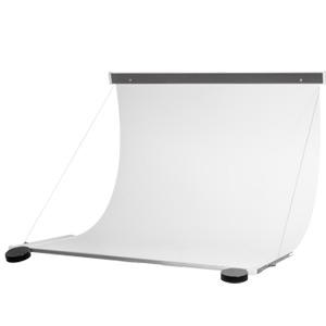 Płaszczyzna bezcieniowa z listawami aluminiowymi i linkami 45x70 cm / więcej >
