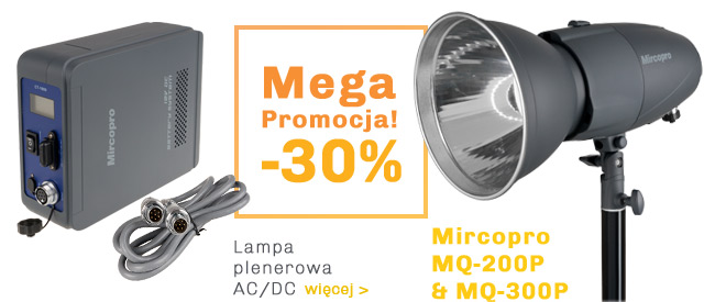 Mega Promocja -30% Lampy plenerowe Mircopro / zobacz >