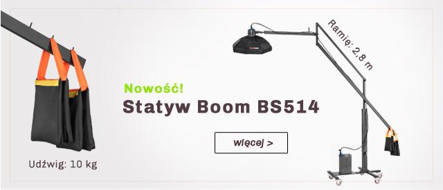 Statyw typu Boom ramię 2,8 m! / zobacz >