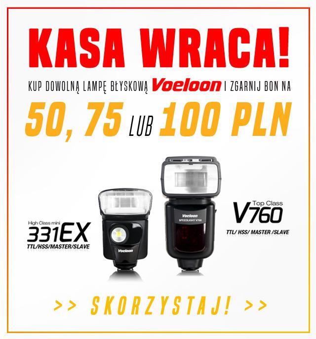 Kasa Wraca - kup lampę Voeloon i zgranij bon na 50, 75 lub 100 zł!