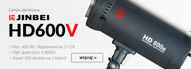 Plenerowa lampa błyskowa HD600 z wyzwalaczem TRS / zobacz >