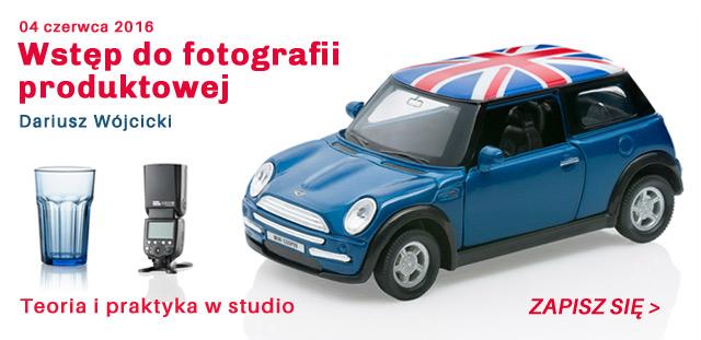 Warsztaty fotografii produktowej dla początkujących / zapisz się >