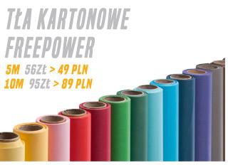 Tła kartonowe Freepower niższe ceny / zobacz >