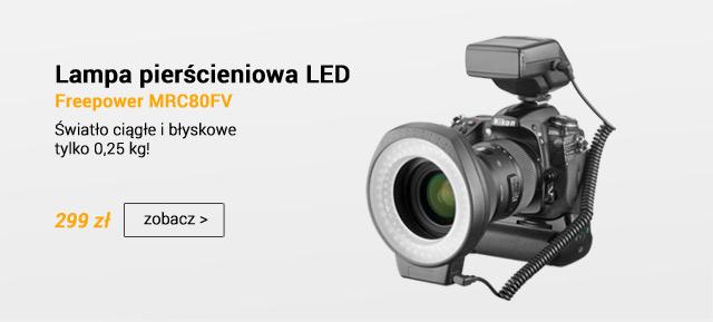Lampa pierścieniowa LED MRC80 / zobacz >