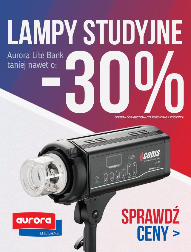 Lampy Błyskowe nawet do -30% taniej / Aurora Lite Bank