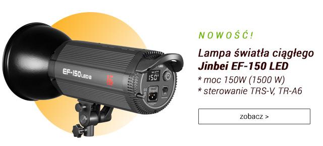 Lampa światła ciągłego Jinbei EF-150 LED / zobacz >