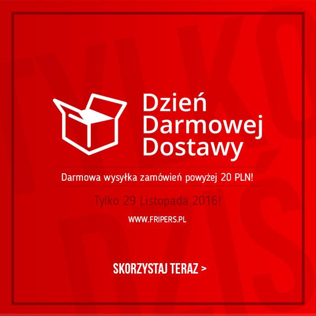 Dzień Darmowej Dostawy Fripers.pl tylko 29 listopada! / skorzystaj teraz >
