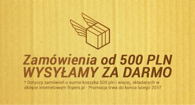 Darmowa wysyłka od 500 pln / przejdź do sklepu >