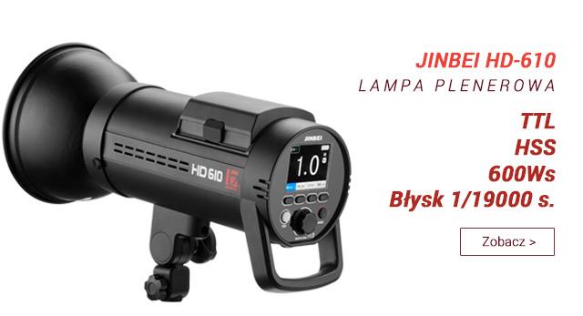 Nowa lampa plenerowa z TTL i HSS - JINBEI HD610 / zobacz >