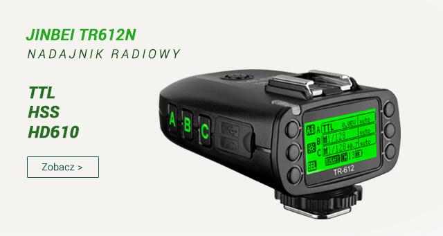 Zaawansowany nadajnik radiowy z HSS/TTL do HD610 / zobacz >