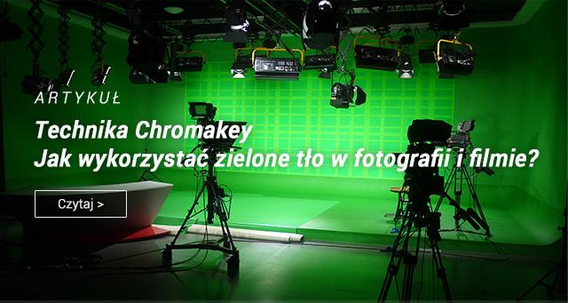 Artykuł: Technika Chroma Key - jak wykorzystać zielone tło w fotogtrafii i filmie?