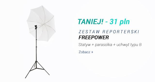 Zestaw Reporsterski FreePower / Zobacz >
