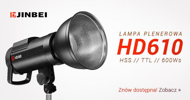 Lampa plenerowa HD610 znów dostępna / Zobacz >