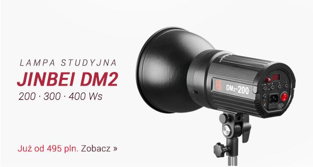 Lampa studyjna Jinbei DM2 znów dostępna / Zobacz >