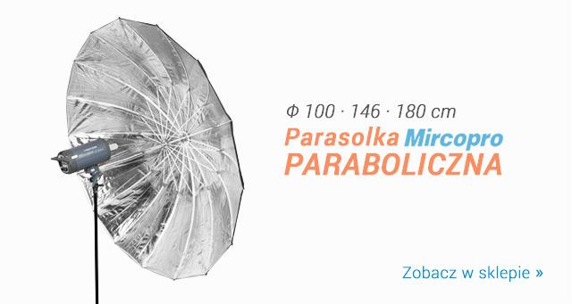 Parasolka paraboliczna Mircopro - 3 rozmiary! / Zobacz >