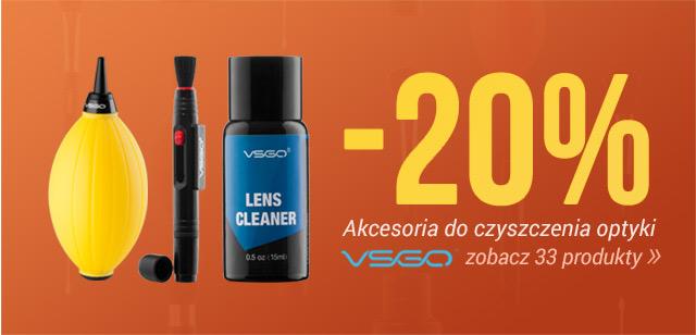 Akcesoria do czyszczenia optyki VSGO -20% / Zobacz >