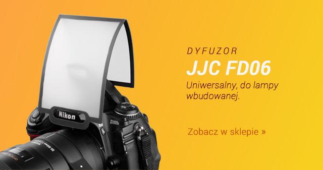 Dyfuzor JJC Uniwersalny do lampy wbudowanej / Zobacz >