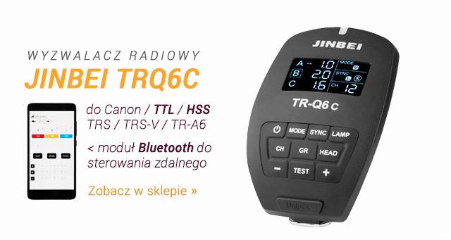 Wyzwalacz radiowy Jinbei TRQ6C / Zobacz >