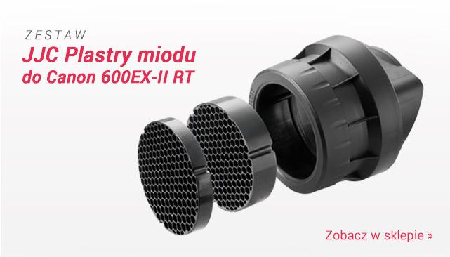 Zestaw plastrów miodu do lampy Canon 600EX-II RT/ Zobacz >