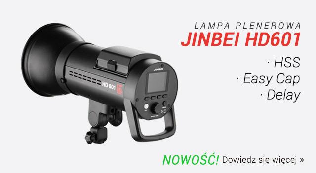 Nowa lampa plenerowa Jinbei HD601 / Zobacz >