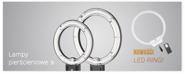 Lampy pierścieniowe NOWOŚĆ Lampa pierścieniowa LED Yongnuo / Zobacz >