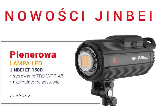 Plenerowa lampa LED JINBEI EF-150D / zobacz >