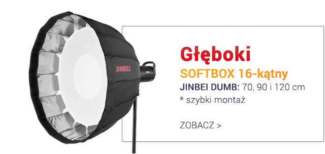 Głęboki SOFTBOX 16-kątny Jinbei DUMB / Zobacz >
